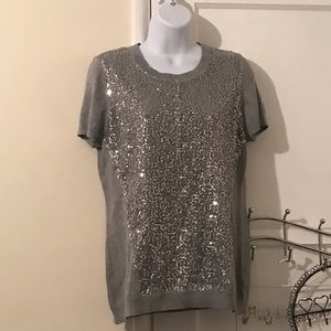 Vince Camuto sequined top
